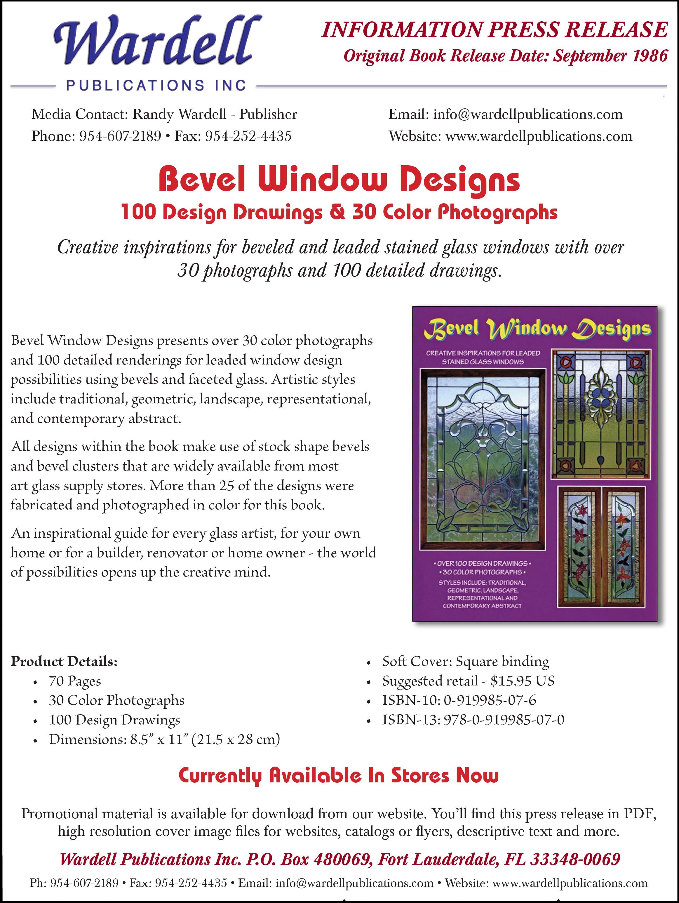 Informational press releases wardell publications art glass get pdf solutioingenieria Choice Image